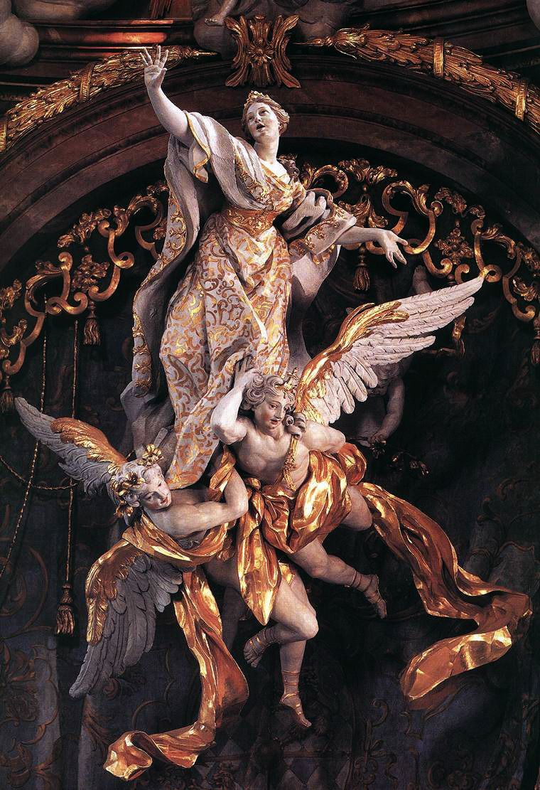 angel, art, and gold image