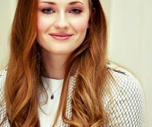 red hair and sophie turner image