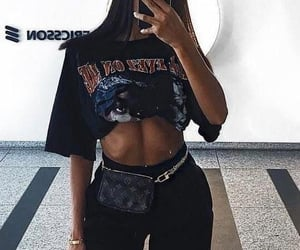 90s, abs, and fashion image