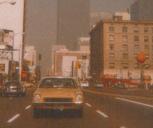 vintage, city, and car image