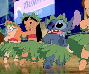alice in wonderland, lilo and stitch, and despicable me image