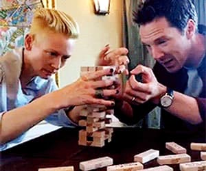 gif, Tilda Swinton, and benedict cumberbatch image