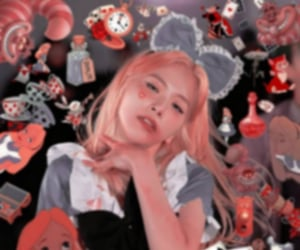 alice, jiu icons, and alice in wonderland image
