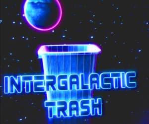 art, intergalactic, and junk image