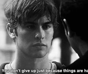 gossip girl, quotes, and nate image