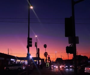 california, colors, and los angeles image
