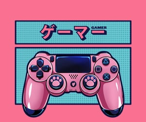 console, design, and gamer image