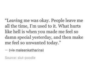 feel, heartbreak, and leave image