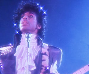 80s, concert, and purple image