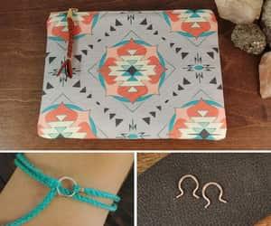 etsy, friendship bracelet, and clutch purse image