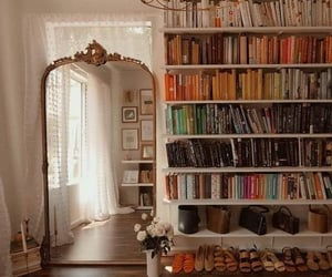 aesthetic, home, and book image