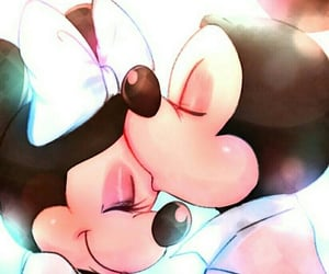 couple, mickey, and lové image