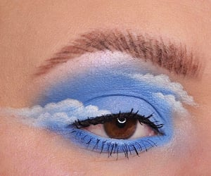 blue, beauty, and clouds image