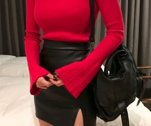 basic, black, and clothing image
