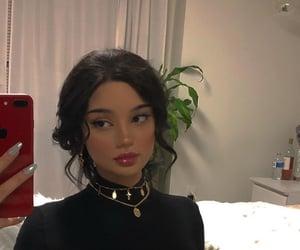 aesthetic, girl, and makeup image