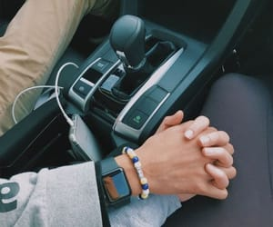 blue, fashion, and hands image