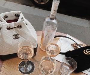 drink, fashion, and bag image