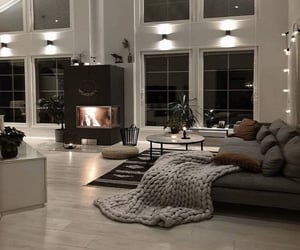 couch, fireplace, and lounge image