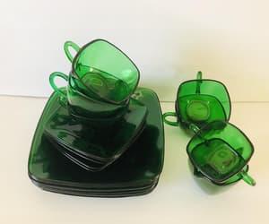 etsy, depression glass, and akitschisjustakitsch image