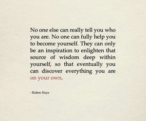 quote, be yourself, and words image