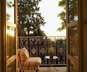balcony, Beirut, and lebanon image