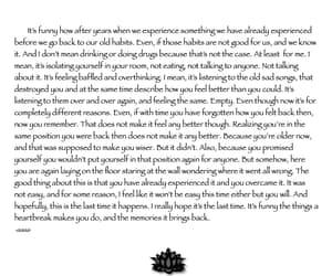 empty, writings, and heartbreak image
