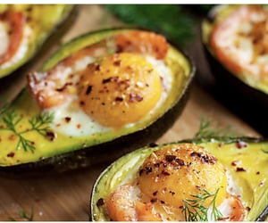 eggs, food, and vegetable image