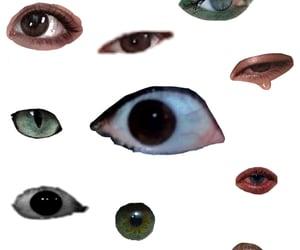 eyes, webcore, and weirdcore image