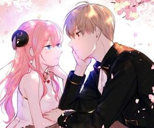 gintama, kagura, and anime couple image
