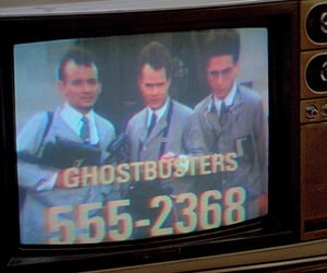 film, Ghostbusters, and grunge image