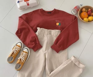korean fashion and outfits image
