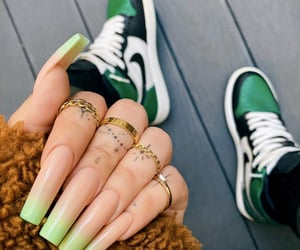 chic, girly, and green image