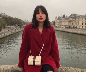 fashion, red, and france image