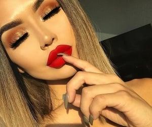 fashion, makeup, and maquillaje image