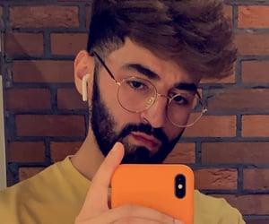 beard, guy, and Hot image