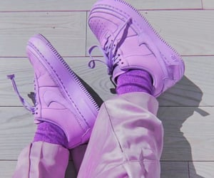 purple, aesthetic, and shoes image