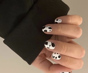 cow, fashion, and nails image
