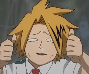 boku no hero, denki, and kaminari image