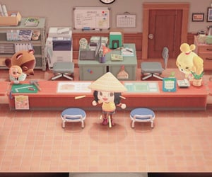 animal crossing, resident service, and entrance image