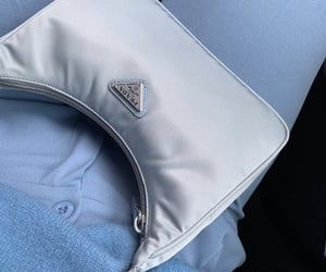 bag, accessories, and blue image