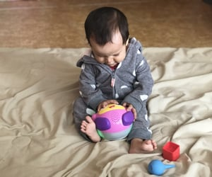 adorable, baby girl, and fisher price image