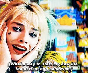Action, gif, and harley quinn image