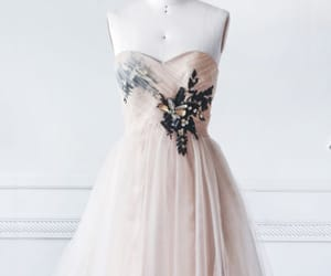 beaded, pink, and short length image