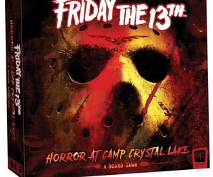 board game, horror, and friday the 13th image