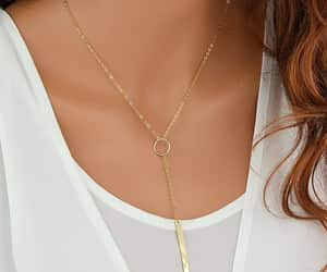 etsy, personalized, and gold necklace image