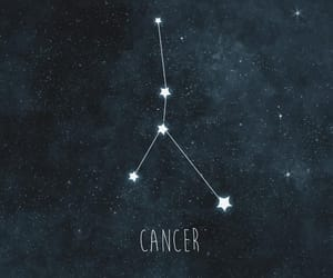 blue, zodiac, and cancer image