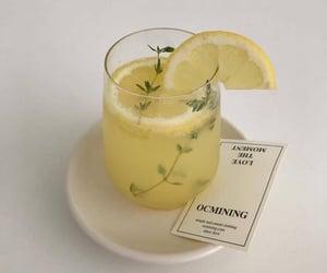lemon, yellow, and drink image