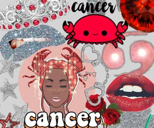 aesthetic, cancer, and horoscope image