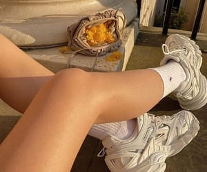 beige, shoes, and sneakers image
