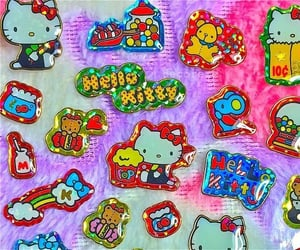 hello kitty and sticker image